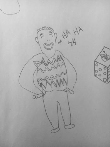 jolly-guy-in-sweater-laughs